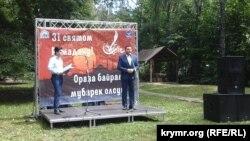 Глава общины АМУ Элимдар (Сулейман) Хайруллаев на Ораза-байрам