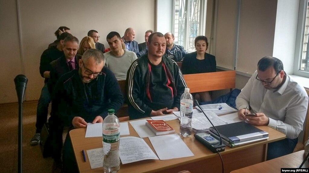 В Херсонском городском суде избирают меру пресечения капитану арестованного судна «Норд» Владимиру Горбенко, 6 апреля 2018 года