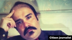 Iranian prisoner of conscience, Vahid Sayadi Nasiri, who died after a hunger strike in Qom prison.