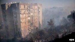 بیشترین موارد آتشسوزی در حیفا و شهرکهای آن در کوهپایههای اطراف کارمل در شمال اسرائیل گزارش شده است.