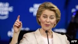Европа Иттифоқи комиссияси президенти Урсула фон дер Ляйен.