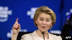 Predsednica Evropske komisije Ursula von der Leyen