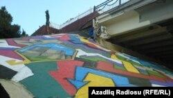 Bakıda qraffiti