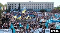 До і після: День пам'яті жертв депортації кримських татар у вільному та анексованому Криму (2006 – 2015)
