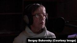 Нина Антонова, мать Сергея Буковского, во время работы
