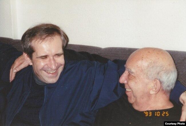 Андрей Ковалев с отцом, Анатолием Ковалевым. Фото из личного архива.