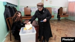 Armenia -- Municipal elections in Hrazdan, 12Feb2012