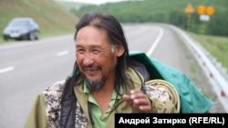 Якутиялык бакшы Александр Габышев.