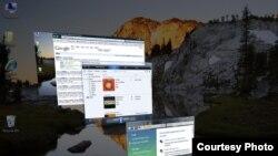 Скриншот операционной системы Windows Vista