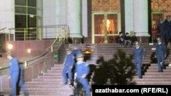 Отделение полиции, Туркменистан (архивное фото)