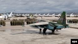 რუსეთის სამხედრო ძალები სირიის ავიაბაზაზე