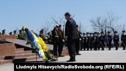 Петро Порошенко під час візиту в Одесу