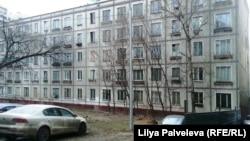 Панельный дом в России (архивное фото)