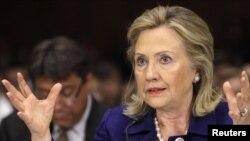 Хиллари Клинтон, Америка мемлекеттік хатшысы.