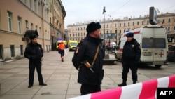 Ресей полициясы (Көрнекі сурет).