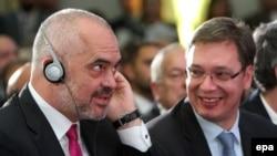 Premijeri Albanije i Srbije - Edi Rama i Aleksandar Vučić