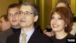 Михаил Осокин и Татьяна Миткова.