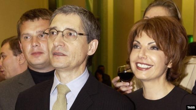 Михаил Осокин и Татьяна Миткова