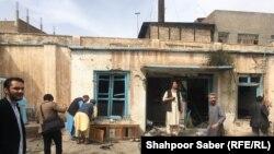 Жанкечти кол салган мечит. Герат шаары. 25-март, 2018-жыл