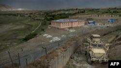 Pamje e një baze ushtarake në provincën Parvan