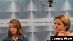 Мария Комарова и Татьяна Валько