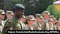 Урочиста церемонія закриття вишколу американських військових на Міжнародному центрі миротворчості і безпеки, 13 липня 2018 року