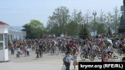 Фестиваль «ВелоПобеда» в Севастополе в 2015 году