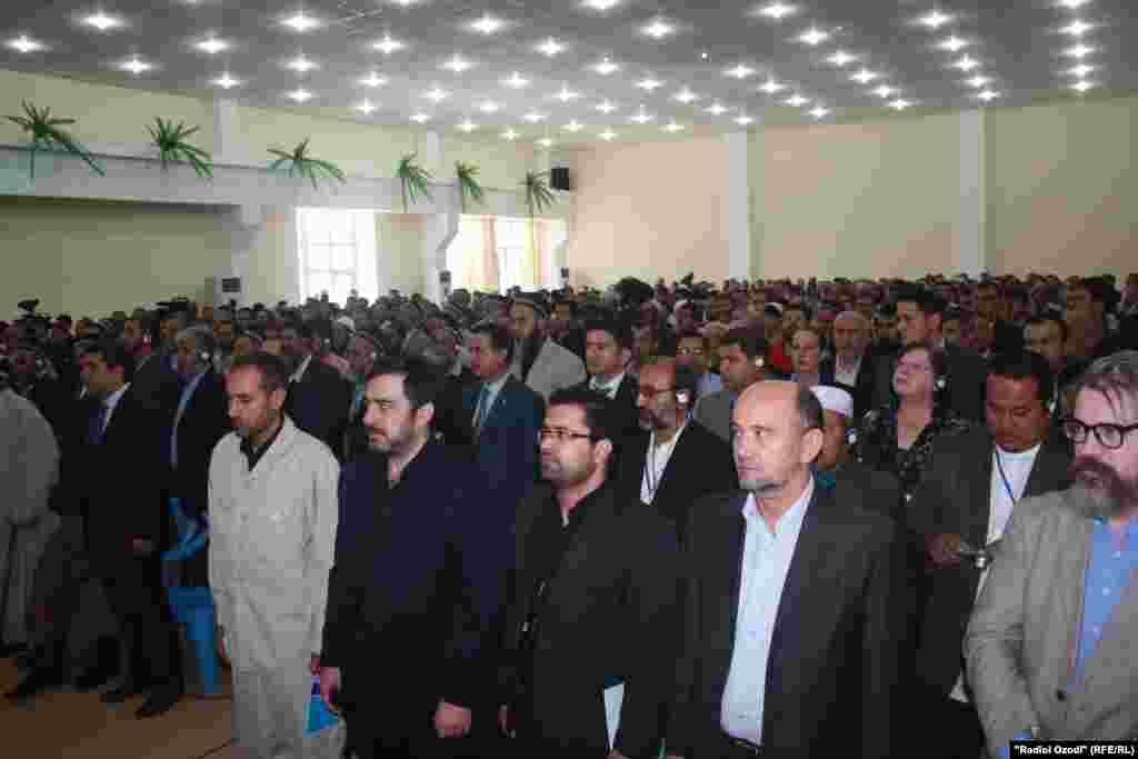 Tajikistan,Dushanbe city,Conference of IslamicReviwal Pary of Tajikistan,24Setember2011