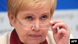 Лидия Ермошина, глава Центральной избирательной комиссии Беларуси.