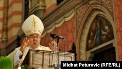 Misu će držati vrbosanski nadbiskup, kardinal Vinko Puljić
