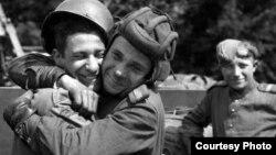 6 мая 1945 года. Встреча союзников – военных СССР и США