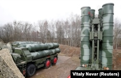 Russia's S-400 surface-to-air missile system