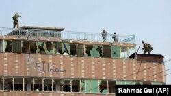 نیروهای افغان در شهر جلال آباد