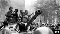 Prague--Troops of the Soviet Union and its Warsaw Pact allies invaded Czechoslovakia on August 21, 1968.