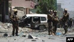 На місці вибуху в Кабулі, 7 липня 2015 року