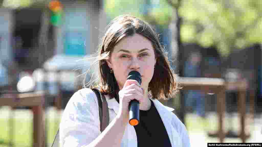 Координатор медійної ініціативи з прав людини Марія Томак