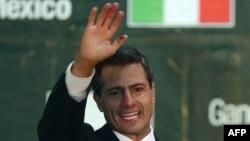 Энрике Пенья Ньето - пока победитель президентской гонки в Мексике