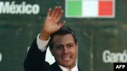 Мексиканскиот претседател Енрике Пена Нието