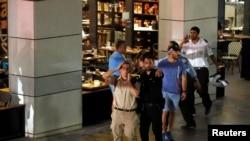 Mjesto napada - Tržni centar u Tel Avivu