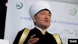 Russian Grand Mufti Ravil Gainutdin in Moscow in December 2014