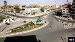 حظر تجوال في بغداد في عام 2007