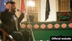 سعید حدادیان، نوحهخوانی در حضور مقامات ارشد جمهوری اسلامی از جمله آیتالله خامنهای