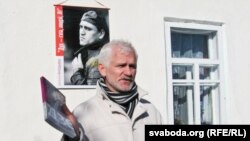 Belarusian human rights activist Ales Byalyatski is being held on tax evasion charges.