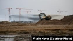 Строительство стадиона к ЧМ-2018 в Калининграде