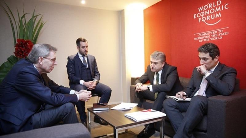 Վարչապետը Դավոսում հանդիպումներ է ունեցել միջազգային խոշոր ընկերությունների ղեկավարների հետ