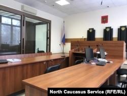 Зал заседаний по делу Гаджиева