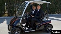 Əliyev və Putin