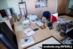 Працоўнае месца Васіля Несьцярэнкі ў інстытуце «Белрад»