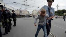 Nasiljem na demonstrante u Rusiji