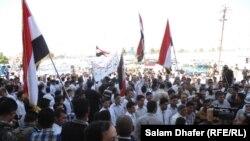 Акция протеста в Майсане. Ирак, 28 апреля 2013 года.